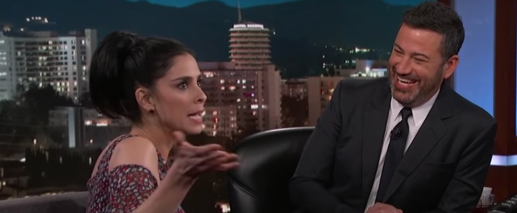 Sarah Silverman Talking About Dating on Jimmy Kimmel Live