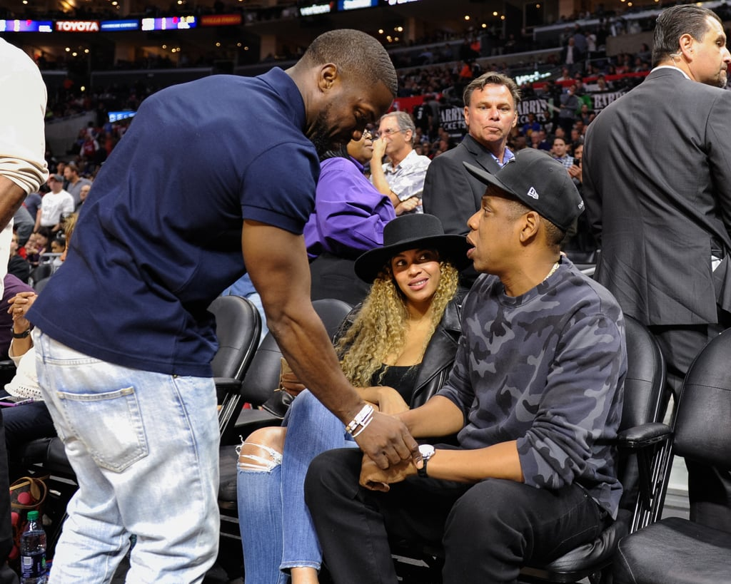 Twins Auto Mall >> Beyonce, Jay Z, and Kevin Hart at Clippers Game March 2016 | POPSUGAR Celebrity Photo 8