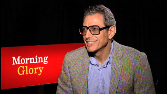 Jeff Goldblum Talks About Rachel McAdams, Diane Keaton, and Morning Glory 2010-11-10 19:29:50