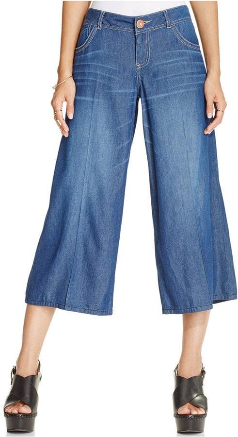 American Rag Denim Gaucho Pants ($60)