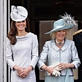 "Camilla: ""I have gin in my handbag."""