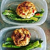 Fish Cakes and Asparagus