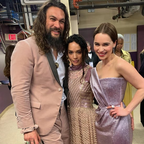 Jason Momoa and Emilia Clarke at 2019 Oscars