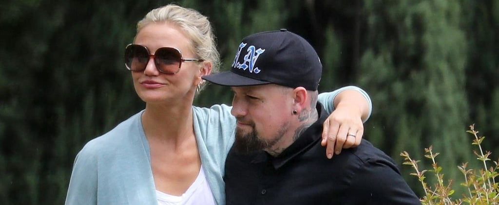 Benji Madden and Cameron Diaz in Italy Pictures June 2018