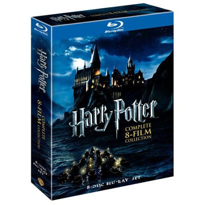 Harry Potter: The Complete 8-Film Collection Blu-Ray Disc Set ($48, originally $140)