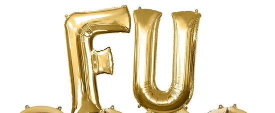"""Party City Is Selling """"FU 2020"""" Balloons For New Year's Eve"""