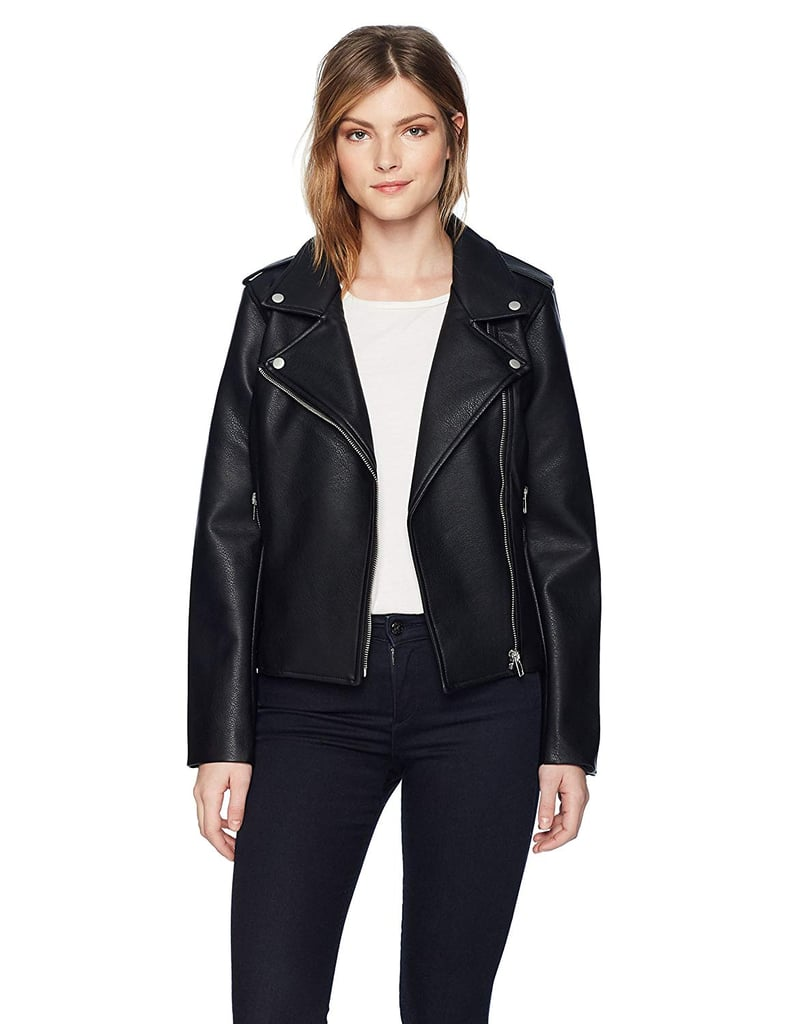 BB Dakota Amelie Moto Vegan Leather Jacket