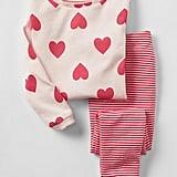 Hearts and Stripes Sleep Set