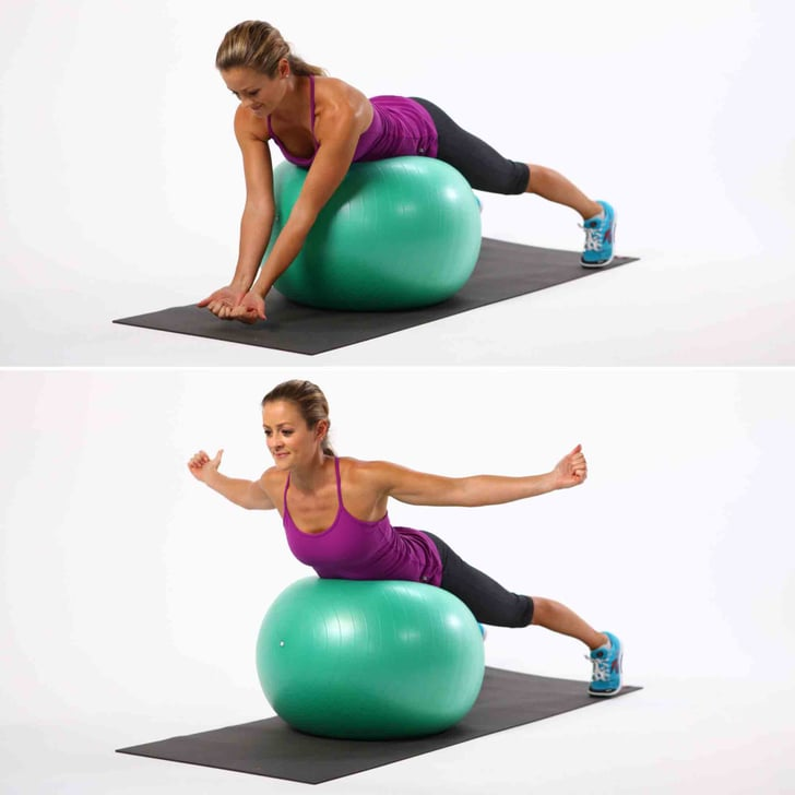Stability Ball Moves: Tame Back Bulge With 4 Exercise-Ball