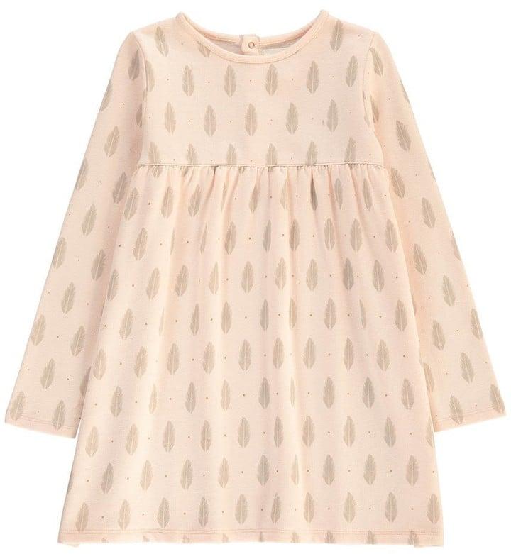 BLUNE KIDS Feather Polka Dot Dress