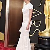 Calista Flockhart at the 2014 Oscars