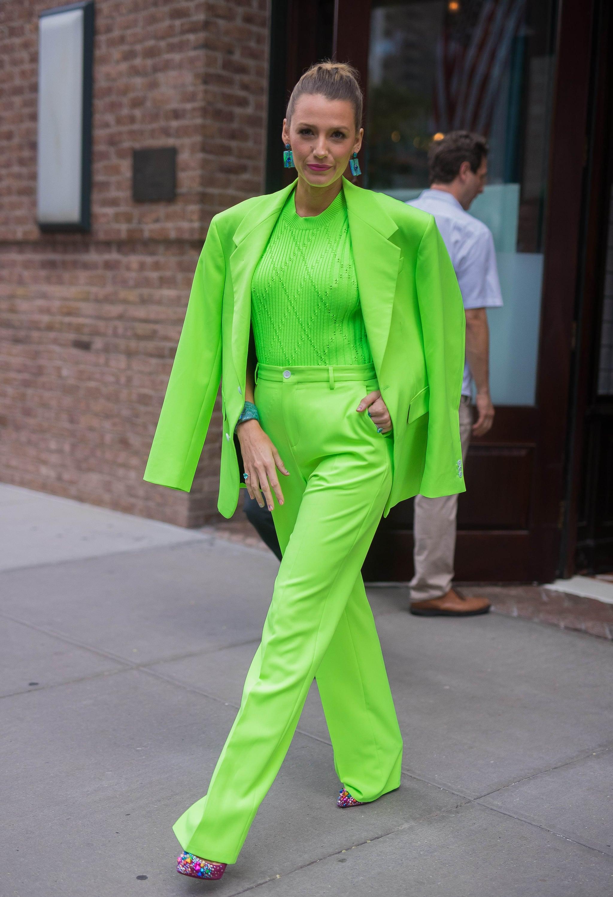 Blake Lively Style A Simple Favor Press Tour 2018 Popsugar Fashion