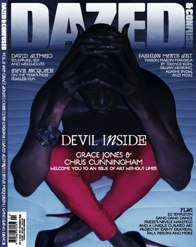 Grace Jones, Dazed and Confused magazine, Chris Cunningham