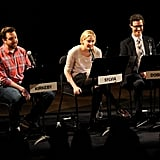 Jason Sudeikis, Greta Gerwig and Tom Cavanagh got together for a live read of The Apartment in NYC.