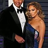 Jennifer Lopez Vanity Fair Oscar Party Dress 2019