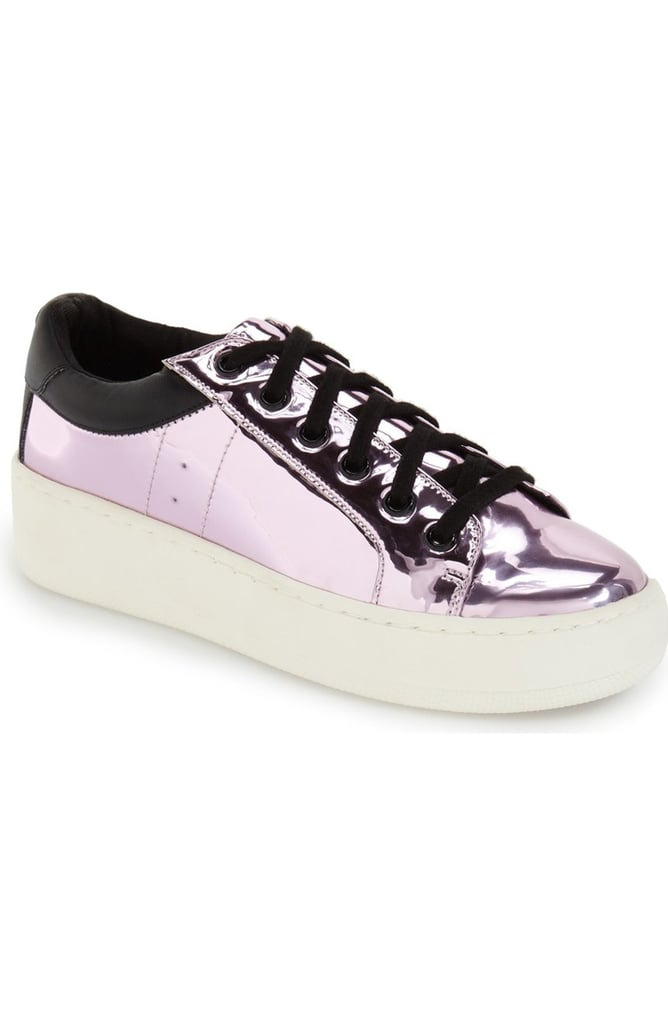 7f389b5bb16 Steve Madden Bertie Metallic Platform Sneaker ( 70)