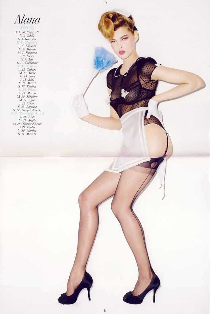 January: Alana Kuznetsova