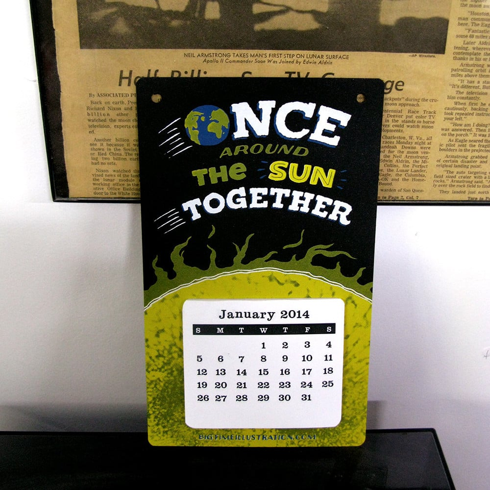 Once Around the Sun Calendar
