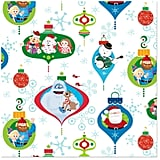 Rudolph the Red-Nosed Reindeer Character Ornaments Christmas Wrapping Paper Roll