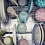 Wash dishes in a full dishwasher