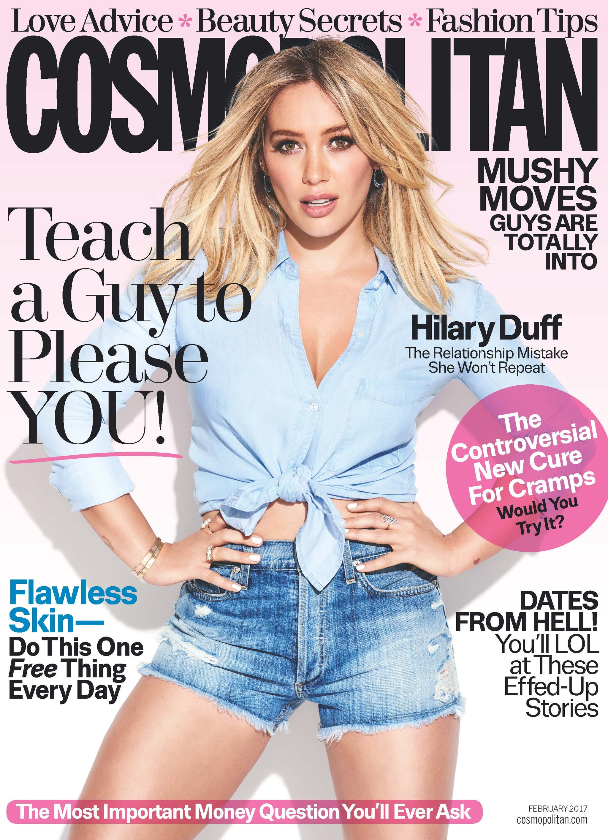 Hilary duff cosmo