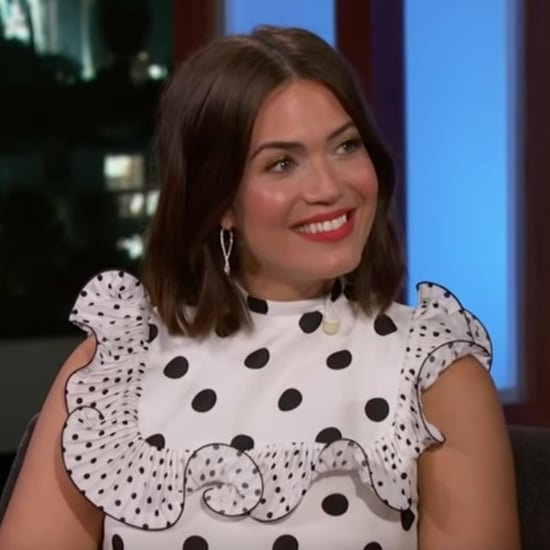 Mandy Moore Talks About Honeymoon on Jimmy Kimmel Video