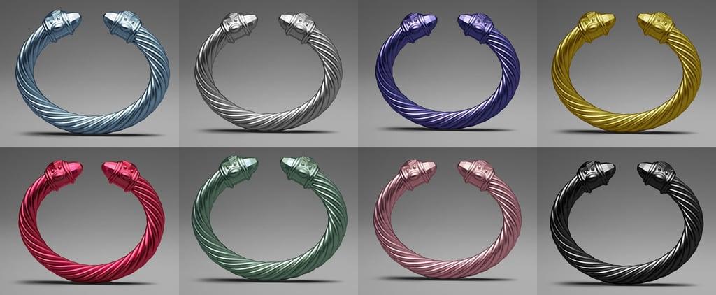 David Yurman Aluminum Cable Bracelets in Bright Colors