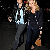 Kate Moss Plays the Part of Jamie Hince's Biggest Fan