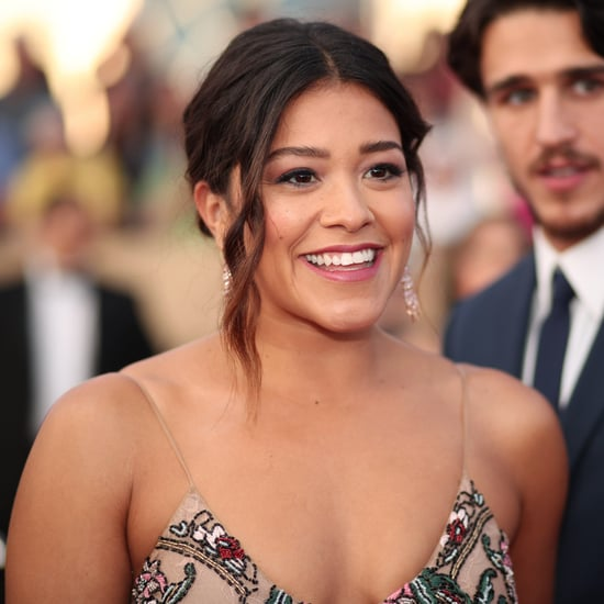 Gina Rodriguez as the Virgin Mary in The Star