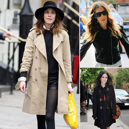 winter styling tips from alexa chung rachel bilson and
