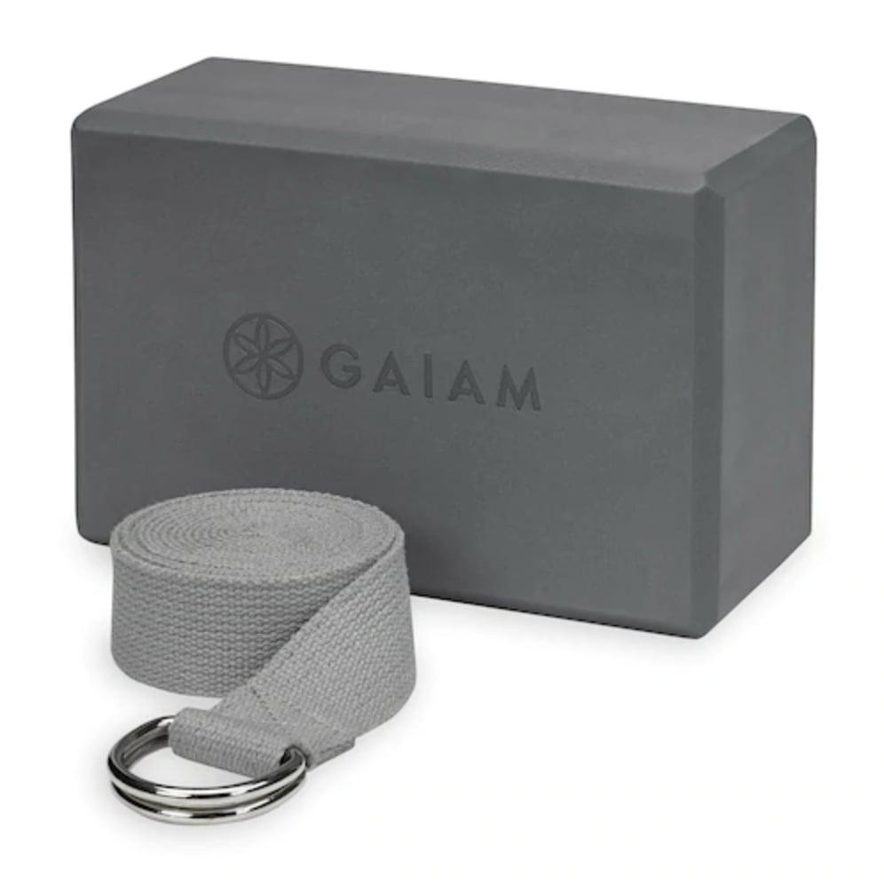 Gaiam Block and Strap