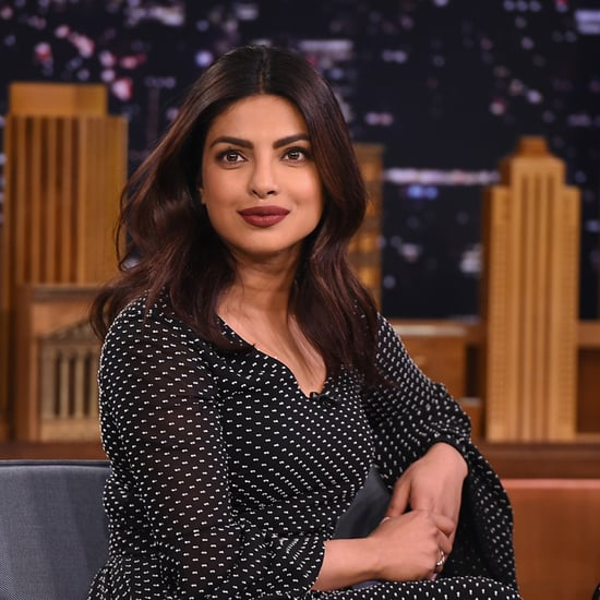 Priyanka Chopra Rosetta Getty Dress on Jimmy Fallon 2016