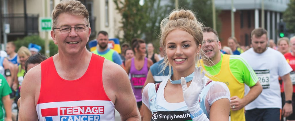 The Reason This Teen Ran a Half-Marathon Dressed as Cinderella Will Move You to Tears
