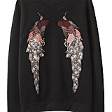 We love the vibrant embroidered pheasants on this classic pullover sweater. Proenza Schouler Sweatshirt With Birds ($1,500)