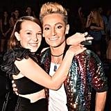 Millie Bobby Brown and Frankie Grande