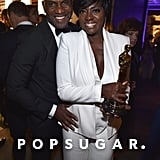 Pictured: Viola Davis and Julius Tennon