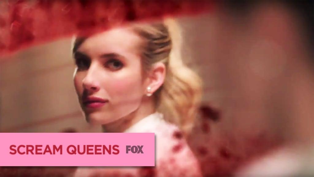 Watch a trailer for Scream Queens