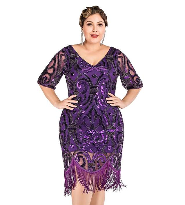 Kilolone 1920s Flapper Tassel Dress