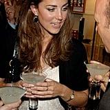 Kate Had a VERY Active Social Life