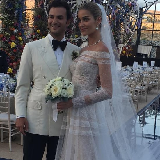 Ana Beatriz Barros's Wedding Dress