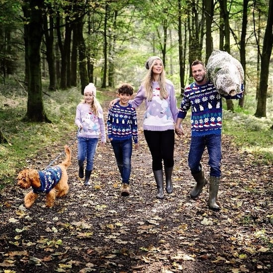 Aldi Family and Pet Matching Christmas Jumpers