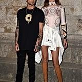 Gigi Hadid and Zayn Malik at Paris Fashion Week