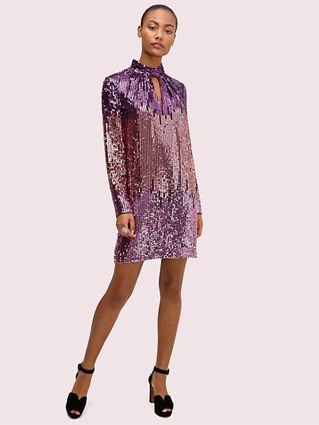 Ombré Sequin Dress