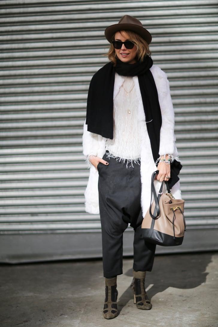 Nyfw Street Style Day 6 Best Street Style At New York Fashion Week Fall 2014 Popsugar