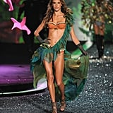 Alessandra Ambrosio in the Victoria's Secret fashion show in November 2009.