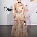 Bella Hadid Wearing Dior Spring '17