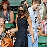 Pippa Middleton Pictures at Wimbledon Without Alex Loudon