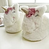Halluci Memory Foam Unicorn Slippers