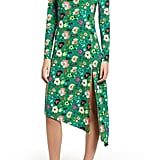 Topshop Floral Chuck On Midi Dress