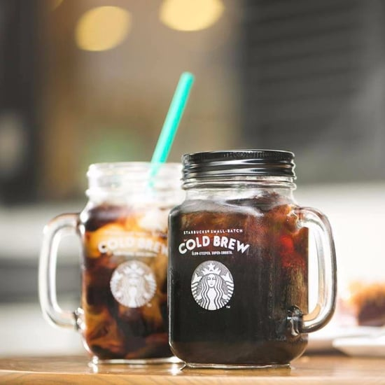 Starbucks Cold-Brew Mason Jars